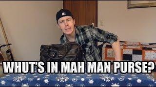 Whut's In Mah Man Purse? | Tag