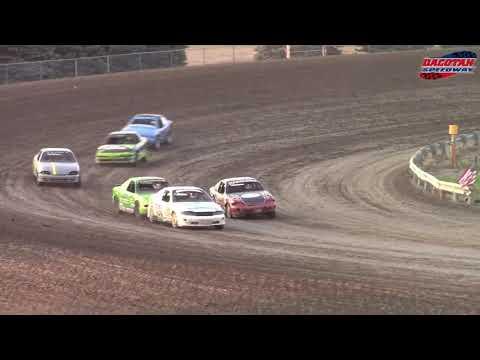 Dacotah Speedway IMCA Sport Compact A-Main (8/24/18)