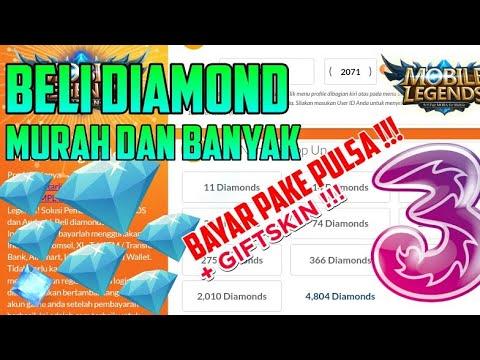 Cara Beli Diamond Mobile Legends Murah Dan Bayar Pake Pulsa Dengan