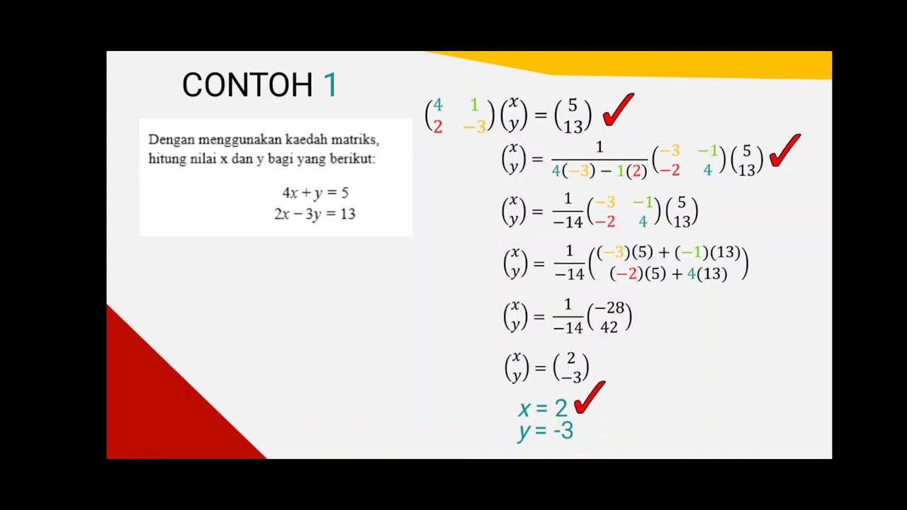 Guru Cemerlang Matematik Ini Kongsi Cara Mudah Memahami Topik Matriks Tingkatan 5 Tip Belajar Gps Bestari