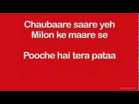 Pareshaan (Lyrics) - Ishaqzaade song - YouTube.FLV