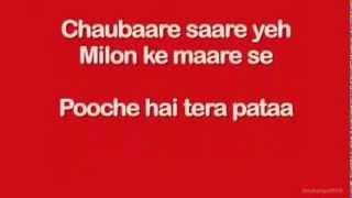 Pareshaan (Lyrics) - Ishaqzaade song - YouTube.FLV