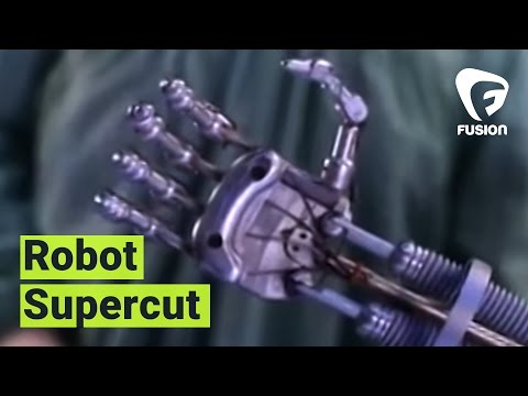 SUPERCUT: Robots on Film