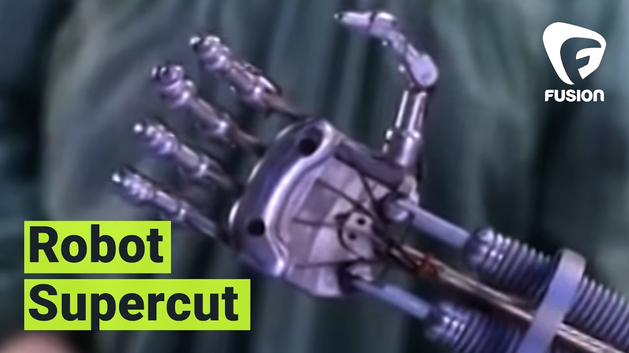 画像: SUPERCUT: Robots on Film youtu.be