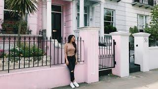SOZINHA EM OUTRO PAÍS! Fazendo amigos, Notting Hill e mais Londres // Diário de Intercâmbio