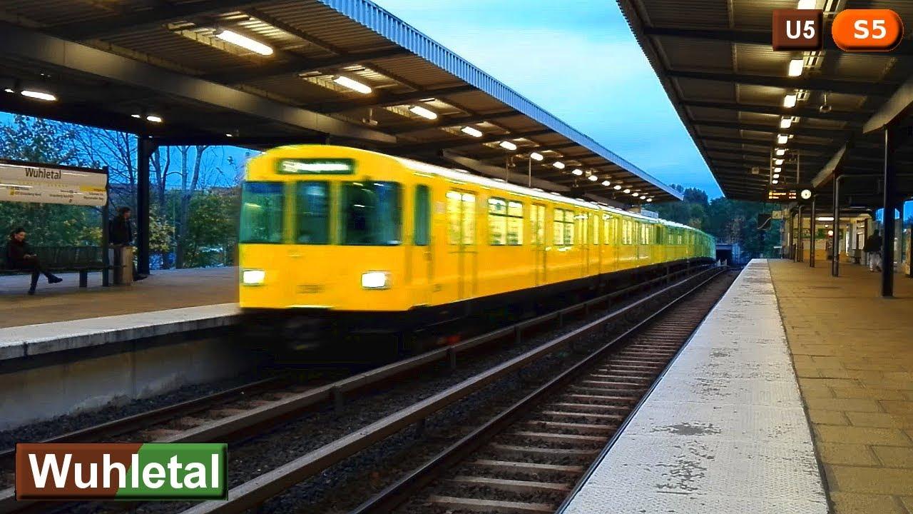 Wuhletal U5 - S5 : U-Bahn und S-Bahn Berlin ( BVG F76 - DB ...