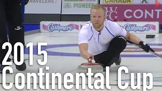 McEwen vs. Edin (Skins)- 2015 World Financial Group Continental Cup Skins (Draw 10)
