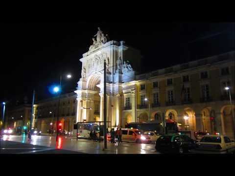 Terreiro do Paço à noite Lisboa