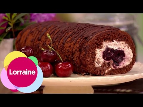 Black Forest Gateau Swiss Roll | Lorraine