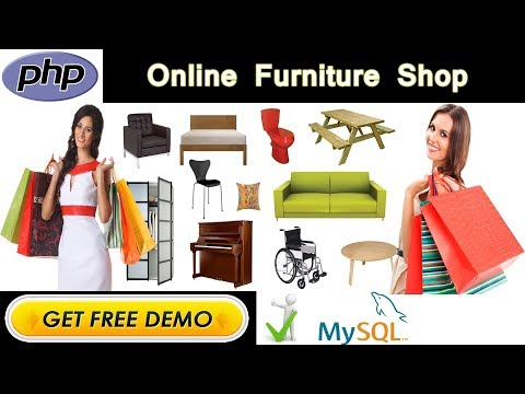 Online Furniture Shop Project In PHP | MYSQL | HTML | CSS | JAVASCRIPT | AJAX | JQUERY