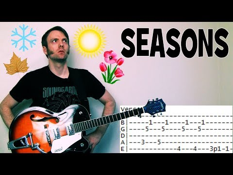 How To Play Seasons By Chris Cornell Guitar Lesson Tab Chords