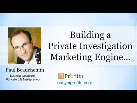 Building a Private Investigation Marketing Engine...