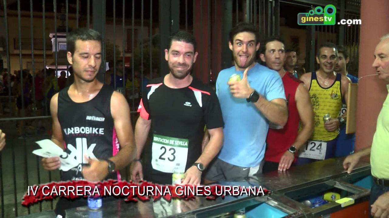 "IV Carrera Nocturna ""Gines Urbana"""