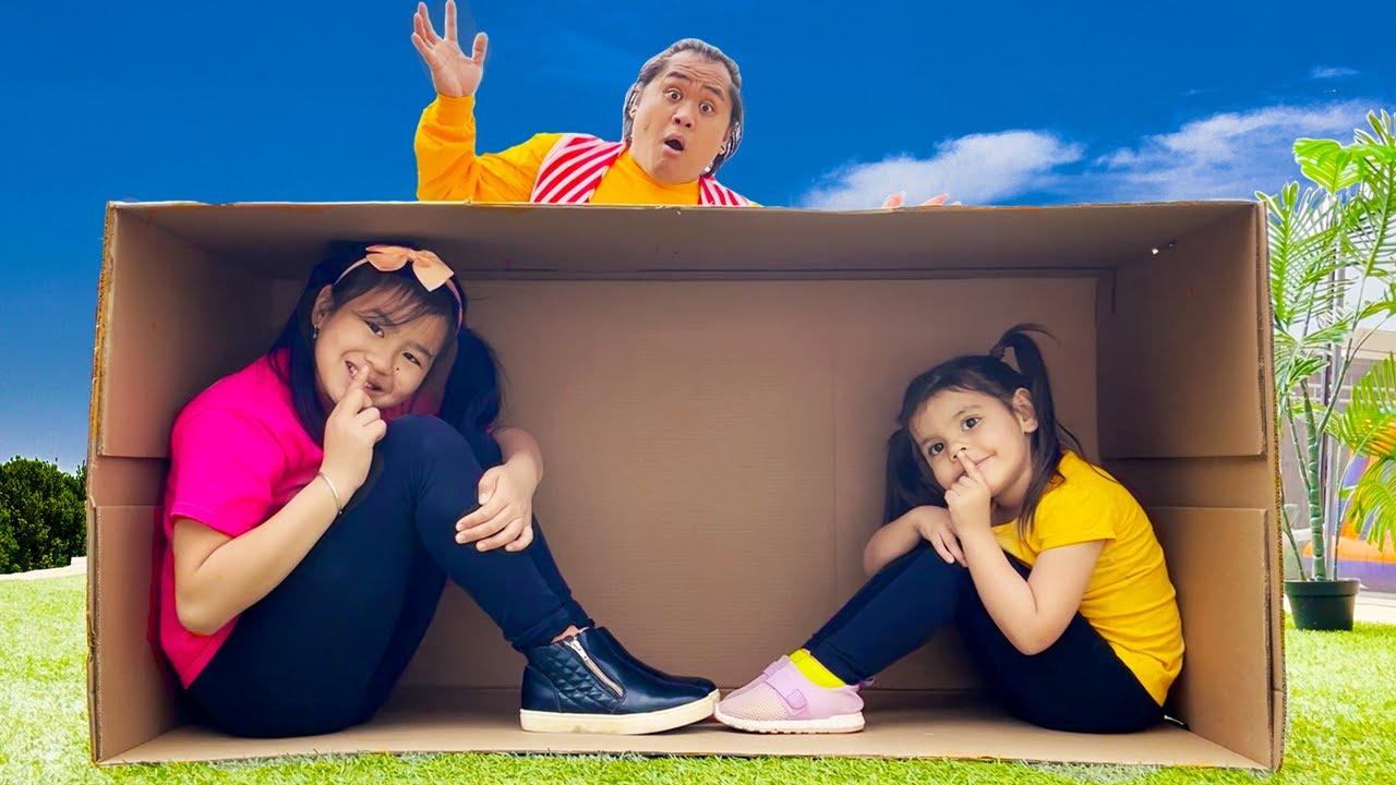 Hide and Seek Song | Jannie Pretend Play Sing-Along to Nursery Rhymes Kids Songs