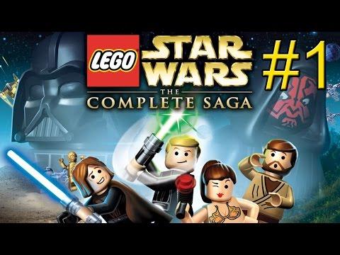 LEGO Star Wars Complete Saga {PC} прохождение часть 1 — Переговоры