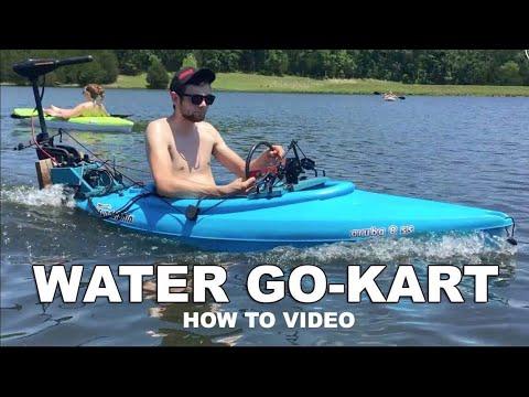 Kayak Go-Kart Build