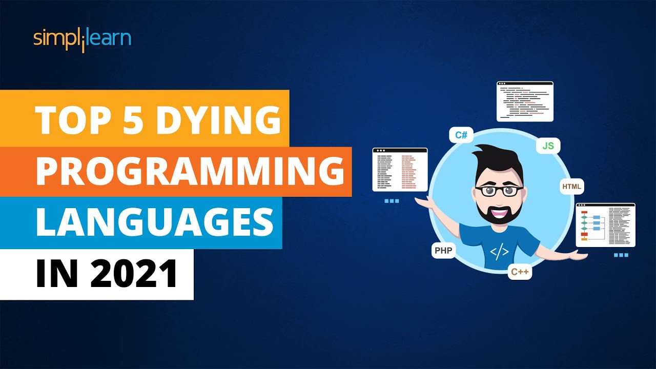 Top 5 Dying Programming Languages In 2021 | Worst Programming Languages In 2021