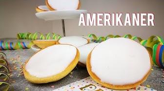 Amerikaner | Saftige Amerikaner | Rezept | einfach selber machen | Karnevalsrezept | Kikis Kitchen