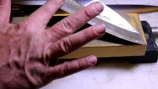 Nubatama Bamboo 4000 grit Japanese Waterstone - First Impressions