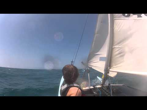Choppy (sailing in choppy seas off Durban)