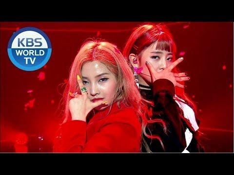(G)I-DLE ((여자) 아이들) - INTRO + LATATA + OUTRO [Music Bank / 2018.05.18]