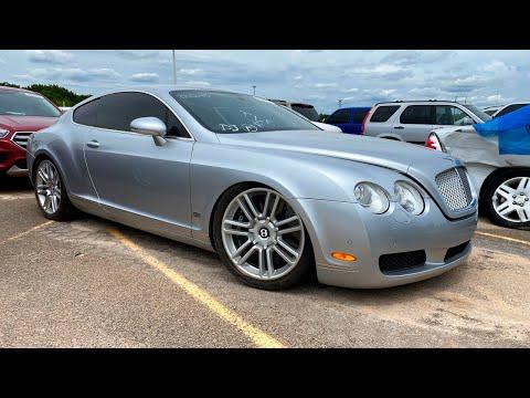 Copart Walk Around 8-6-2020 + 2007 Bentley Continental GT