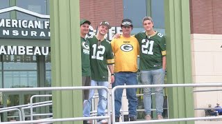 Packers Fans Gearing Up For Game Day And Steve Miller Band Concert
