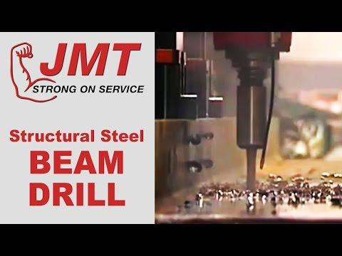 JMT Structural Steel Beam Drilling Machine (Drill Line)