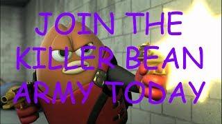 Killer Bean Movie but it gets faster whenever Killer Bean kills someone