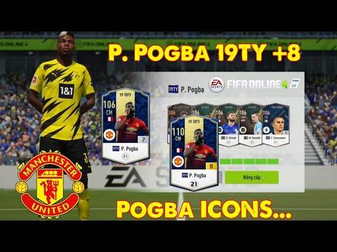 Joyce Chơi Lớn Ép Thẻ Hóa Vàng P. Pogba 19TY +8 - Siêu Phẩm Pogba ICONS?? | FIFA Online 4 VN