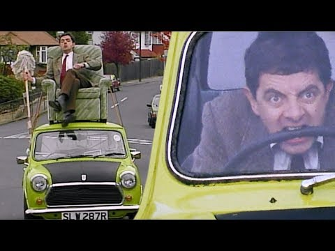 Drive BEAN Drive! | Funny Clips | Mr Bean Official