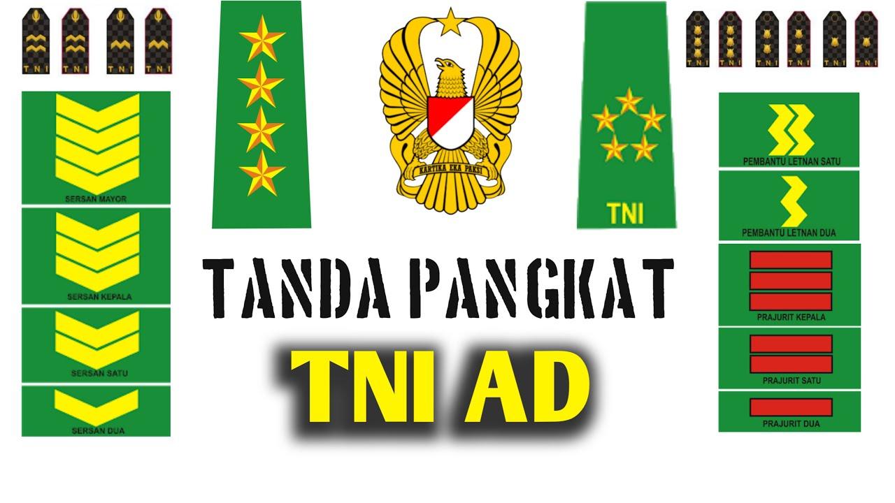 Download TANDA PANGKAT TNI AD