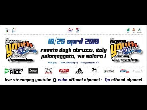 EUBC Youth European Boxing Championships 2018 - Finals - 25/04/2018 @ 14:00
