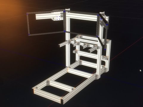 How to Design & Order your DIY aluminum profile sim rig