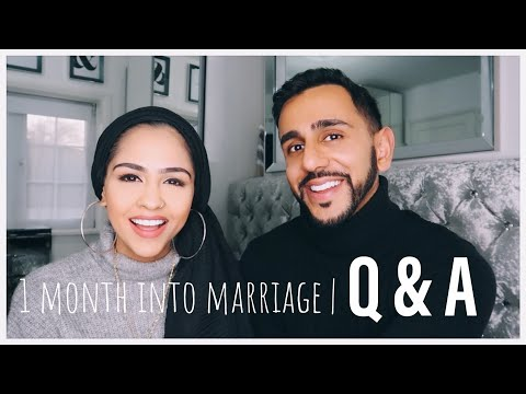 1 MONTH INTO MARRIAGE / Q&A