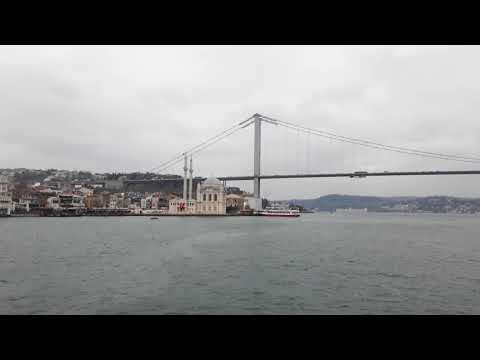 Bosphorous cruise trip Istabul Turkey 17-2-2018
