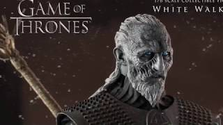 This video is about The Game Of Thrones White Walker Figure By Thre...