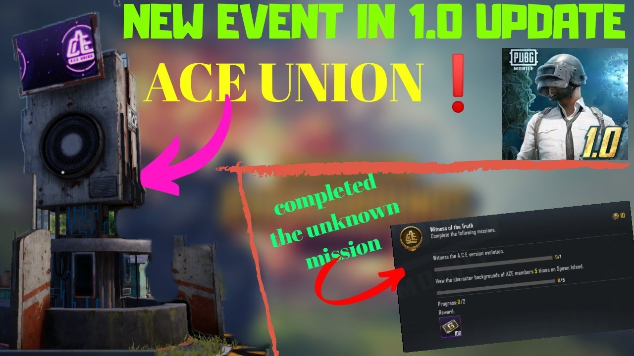 Download NEW EVENT ON 1.0 UPDATE | ACE UNION EVENT IN 1.0 UPDATE | WITNESS OF THE TRUTH ACHIVEMENT COMPLETED