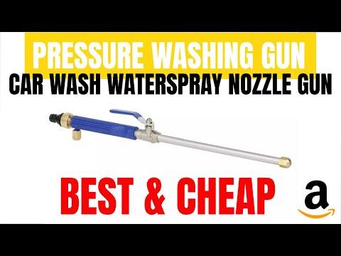 Car Wash Water Spray Nozzle Gun | Water Jet UNBOXING & TEST | Gearbest