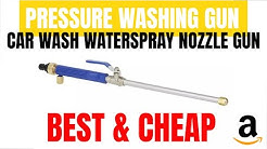 Car Wash Water Spray Nozzle Gun UNBOXING & TEST   Gearbest