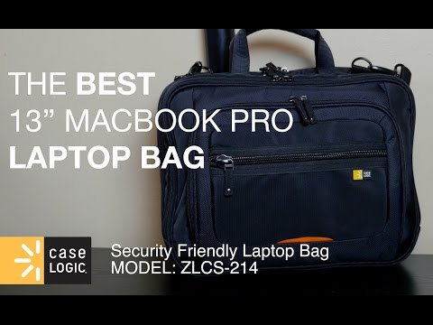Case Logic Laptop Bag Review for 13 inch Macbook Pro ZLCS-214 | Cars and Tech by JDM City