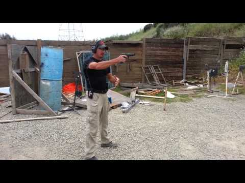 One handed shooting tips with World Champion Robert Vogel