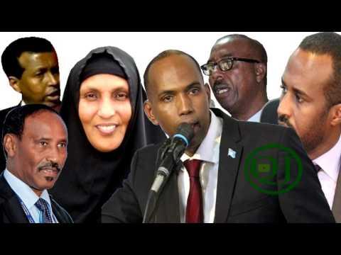 Maxaad ka Taqaanaa Wasiirada Cusub ee Somalia.