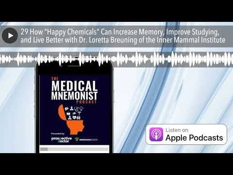 """29 How """"Happy Chemicals"""" Can Increase Memory, Improve Studying, And Live Better With Dr. Loretta Br"""
