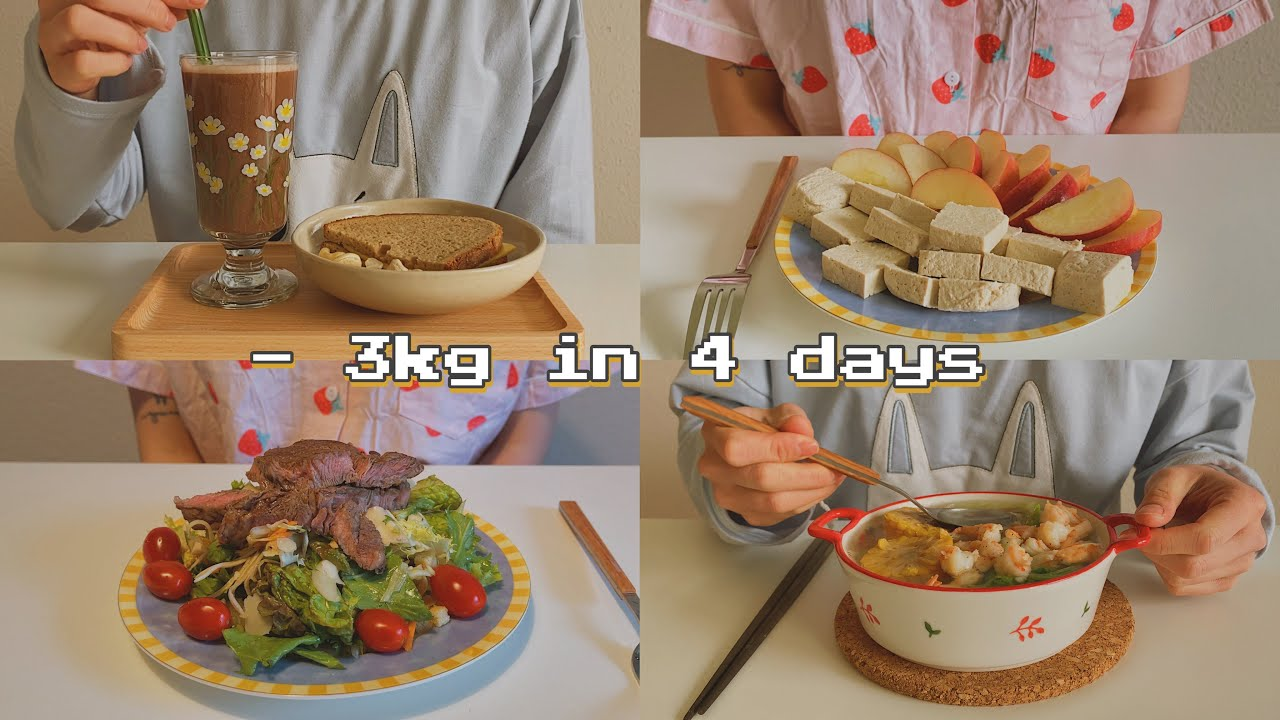 Download Lose 3kg in 4days🔥Diet without Exercise | #diet #loseweight #healthy #getfit