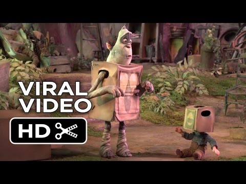The Boxtrolls VIRAL VIDEO - Hiding (2014) - Stop-Motion Animated Movie HD