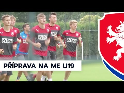 Čtvrteční příprava reprezenatce do 19 let na ME v Gruzii (6. 7. 2017)