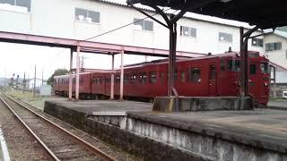 観光列車サミットで集合した人吉駅からいさぶろう・しんぺいが発車!