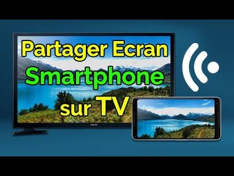 comment afficher l ecran d un smartphone sur une tv