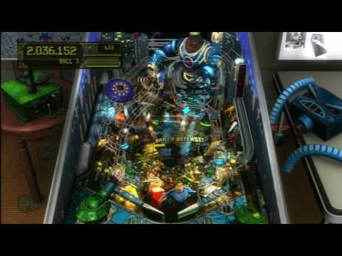 Classic Game Room - EARTH DEFENSE ZEN PINBALL TABLE for PS3 review
